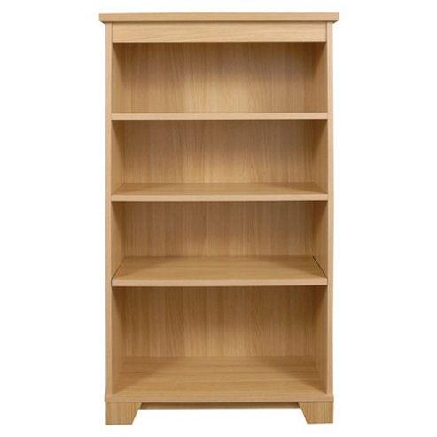 Caxton Sherwood Medium Open Bookcase in Natural Oak