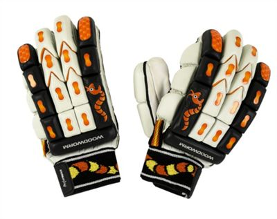 Woodworm Cricket Performance Batting Gloves - Boys Left Hand