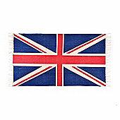 Homescapes Cotton Printed Rug Union Jack, 70 x 120 cm