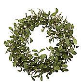 Mistletoe Christmas Door Wreath