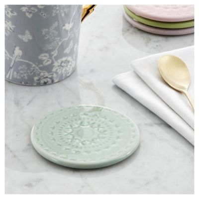 Fox & Ivy Ceramic coloured coaster 4pk