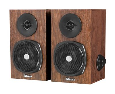 Trust Vigor Stereo Speaker Set (Brown)