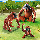 Playmobil 6648 City Life Zoo Orangutans with Baby