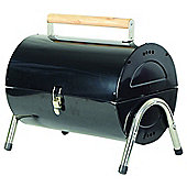 Redwood Leisure Portable Barrel Barbecue In Black