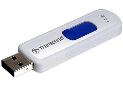 Transcend JetFlash530 64GB USB Flash Drive Red