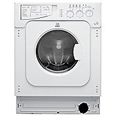 Indesit Ecotime Integrated IWDE 126 (UK) 6kg, 1200rpm Washer Dryer - White