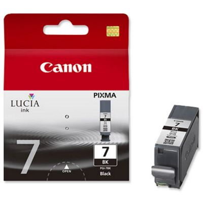 Canon PGI-7 printer ink cartridge - Black