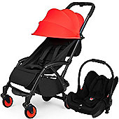 ickle bubba Aurora Travel System (Red)