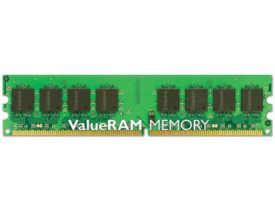 Kingston ValueRAM 1GB 667MHz DDR2 SDRAM Unbuffered Non-ECC CL5 DIMM Memory