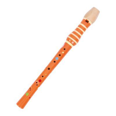Tidlo Wooden Rainbow Recorder (Orange)
