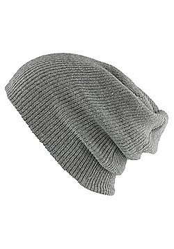 Heather Grey Heritage Beanie - Grey