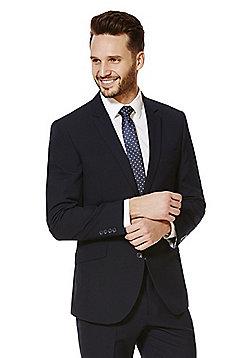 F&F Regular Fit Suit Jacket - Navy