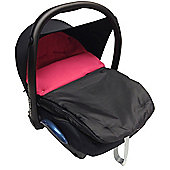 Car Seat Footmuff to Fit hauck Dark Pink