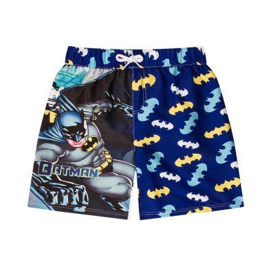 DC Comics Batman Boys Swim Shorts Blue 3-4 Years