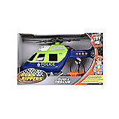 Road Rippers 12-Inch Rush and Rescue Police Helicopter