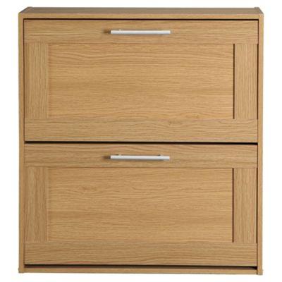 Kendal Shoe Cabinet, Oak-effect