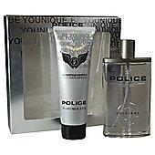 Police 100ml EDT Spray & 100ml Shower Gel Gift Set