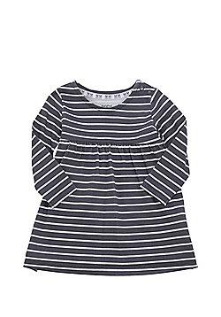 F&F Striped Dress - Grey