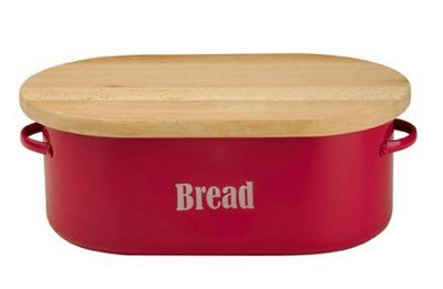 Typhoon Vintage Kitchen Red Bread Bin