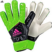 Adidas Ace Fingersave Junior Goalkeeper Gloves - Green