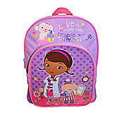 Doc McStuffins Love You More Than Lollipops and Lemonade Backpack