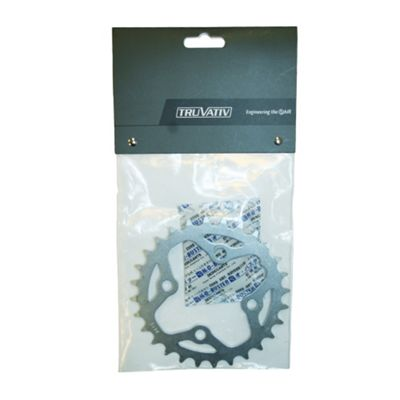 Truvativ Chainring MTB 28t 4 Bolt 64mm BCD Steel Tech Silver