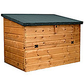 "4 x 2.5 Sutton Tongue & Groove Store Chest Garden Wooden Store (4ft x 2ft 5"")"