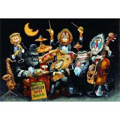 The New Nairobi Jazz Band - 500pc Puzzle