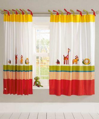 Mamas & Papas - Hoppity Hoot - Tab Top Curtains