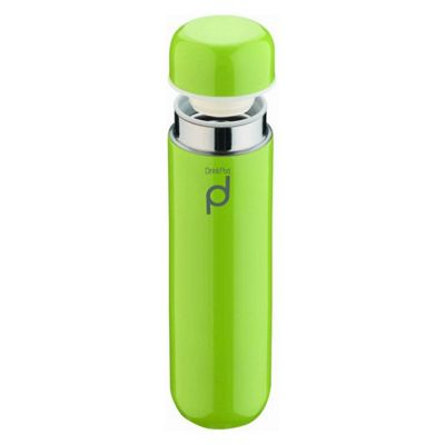 Grunwerg Drinkpod Vacuum Flask, 0.3L, Green