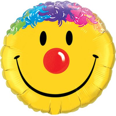 Smile Face Balloon - 18 inch Foil