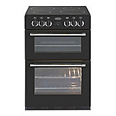 Belling Classic 60G 600mm Mini Range Gas Cooker, Black