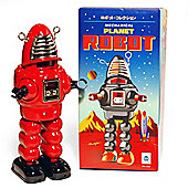 Retro Tin Collectable Ornament - Red