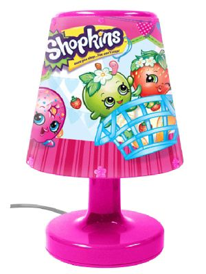 Shopkins Bedside Lamp Light