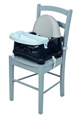 Safety 1st Swing Tray Booster Seat - Grey Patches