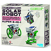 Great Gizmos 4M Eco Engineering 3 in 1 Mini Solar Robot