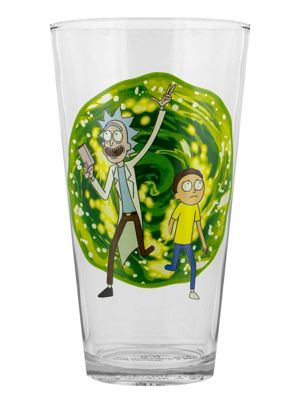 Rick and Morty Portal Drinking Glass