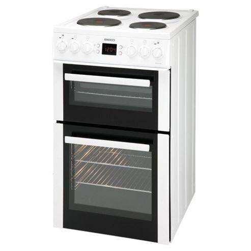 Beko BDV555AW Cooker White