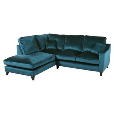 Teal Corner Sofa Corner Sofa Bed Kapri Upholstered