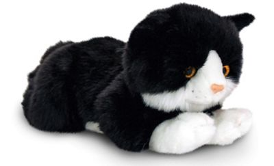 Keel Toys Smudge Black Cat Soft Toy