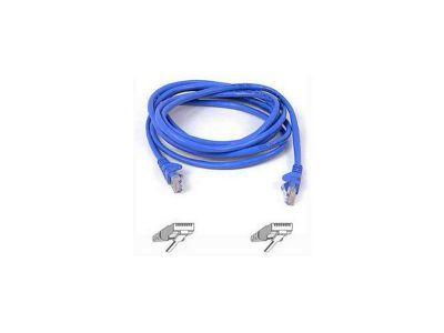 Belkin 1m CAT5 RJ45 snagless Patch Cable Blue