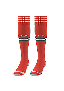 adidas Benfica 2013/14 Home Football Soccer Socks Red - Red