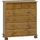 Steens Richmond 2+4 Drawer Chest Pine