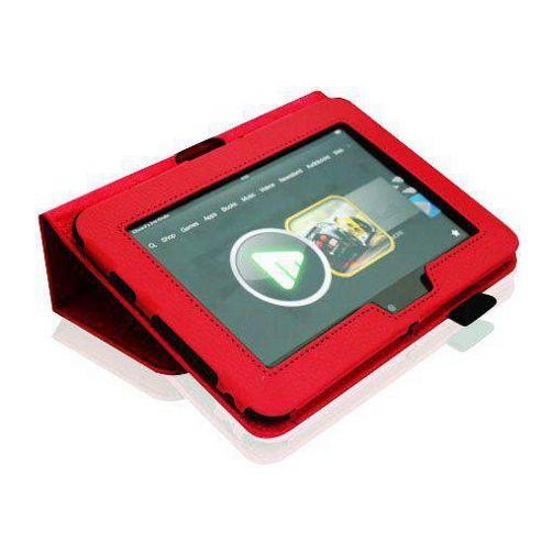 U-bop Neo-Orbit Midi Flip Case Red - For Amazon Kindle Fire HD