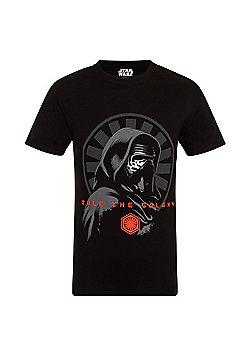 Star Wars Mens T-Shirt - Black & Grey