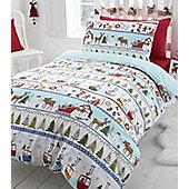 White Christmas, Festive Single Bedding