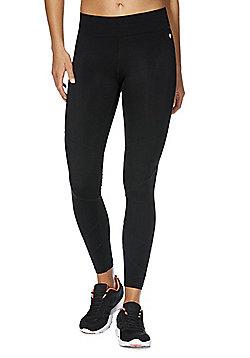 F&F Active Premium Leggings with Lycra® Elastane - Black