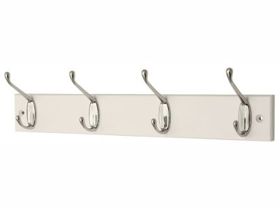 Headbourne Hr4136H Satin Nickel Hookrail 4Hook