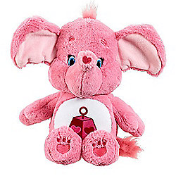 Care Bears Medium Soft Toy with DVD - Lotsa Heart Elephant