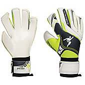 Precision Football Jnr Schmeicho 5 Box Cut Flat Soccer Goalkeeper Gloves - White